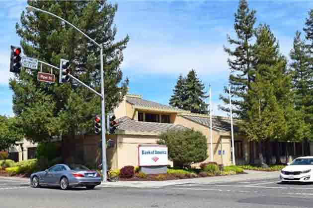 Bank of America, Healdsburg, CA